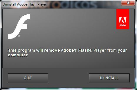 uninstall-adobe-flash-player