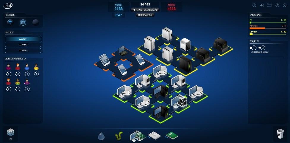 Jogo da Intel – IT Manager Duels